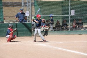 R at plate