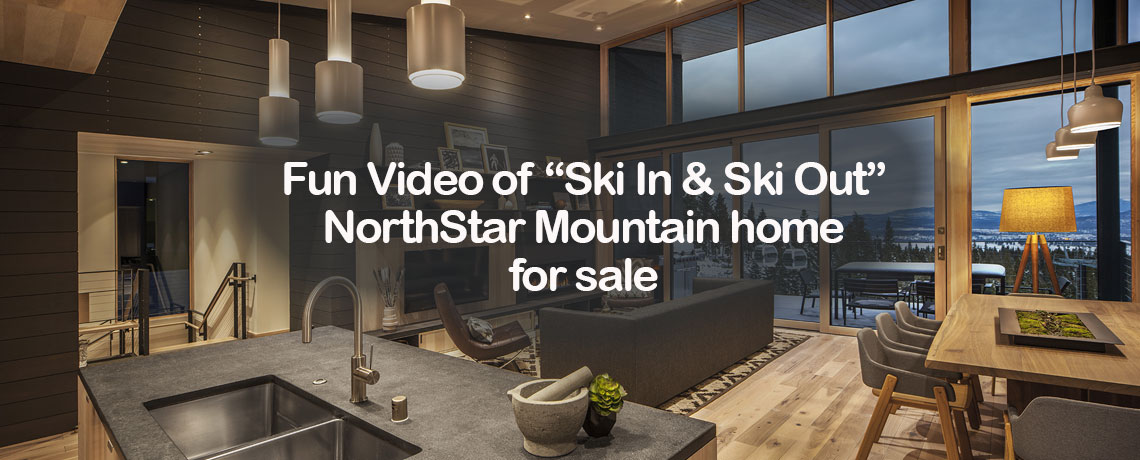 Skiing Back to M12 - Ski In & Ski Out Home for Sale