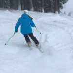 Skiing Alpine Meadows